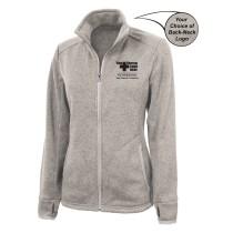 Lawrence Memorial-Regis College Charles River Women's Heathered Fleece Jacket