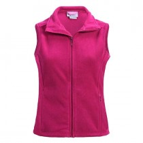 Caring for a Cure Landway Women's Helena Micro Fleece Vest