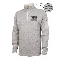 Lawrence Memorial-Regis College Charles River Men's Heathered Fleece Pullover