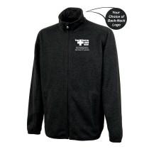 Lawrence Memorial-Regis College Charles River Men's Heathered Fleece Jacket