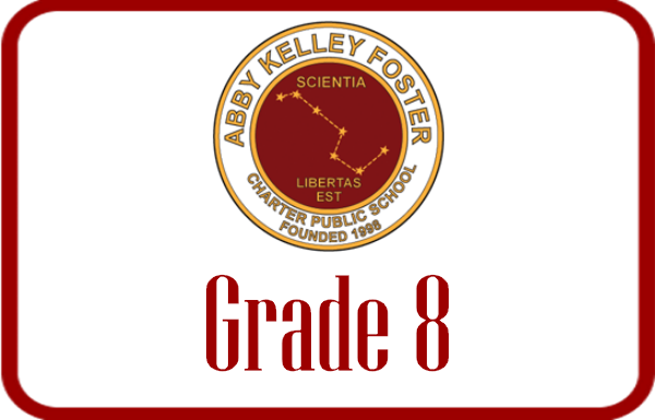Abby Kelley Grade 8