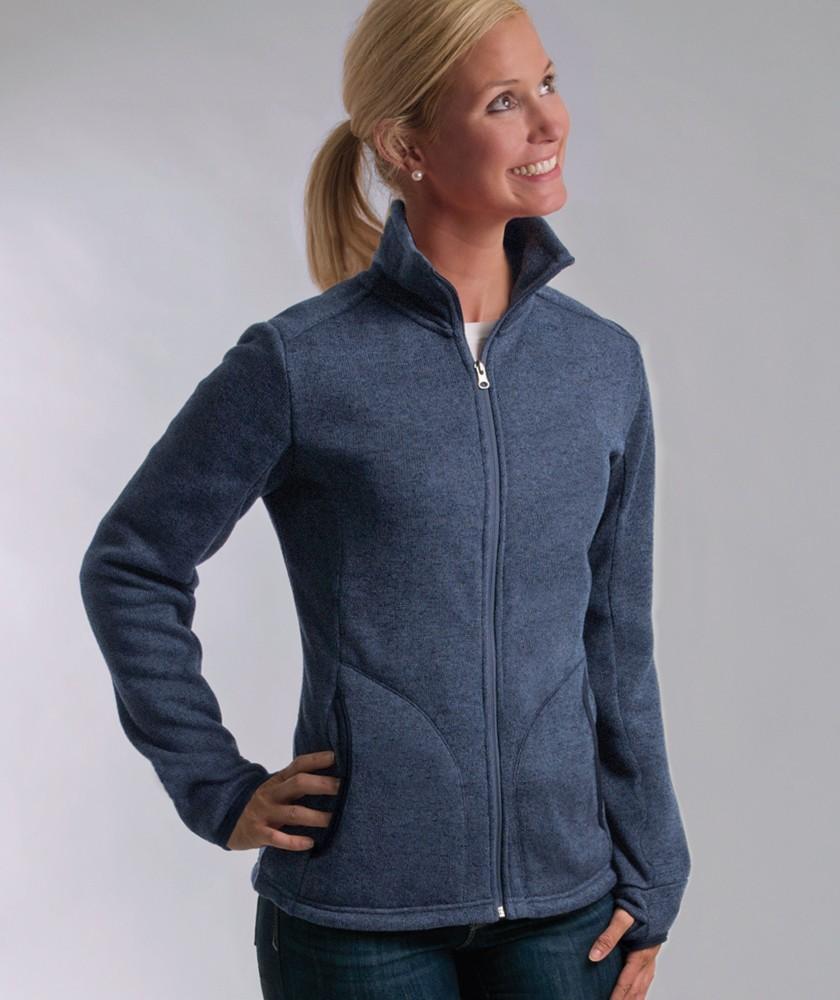 66d1af5a6 Allen's Hospital Uniforms Charles River Women's Heathered Fleece ...