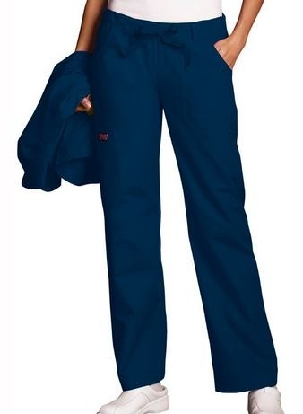 Cherokee Women's Low Rise Drawstring Cargo Pant- Westwood-Mansfield Pediatric Associates