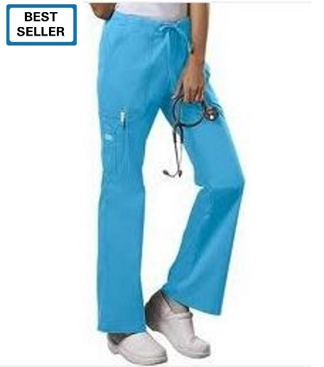 Cherokee Women's Core Stretch Drawstring Cargo Scrub Pant # 4044