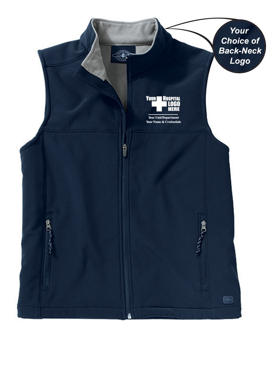 Caring for a Cure Charles River Women's Classic Soft Shell Vest #5819