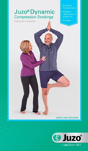 Juzo Dynamic Thigh High wth Hip Attachment 30-40 mmHg #3512AGHA