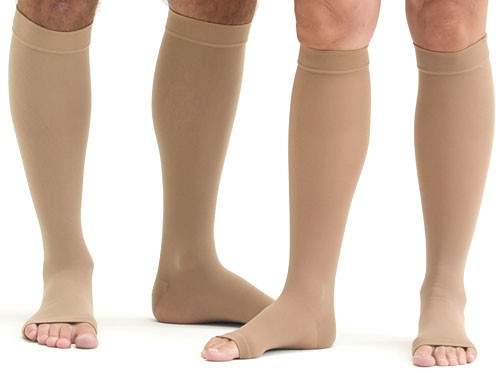 Mediven Plus Knee Highs 30-40 mmhg, Open Toe
