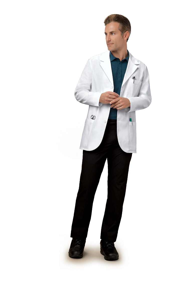 "Cherokee Men's 31"" Consultation Lab Coat #1389"