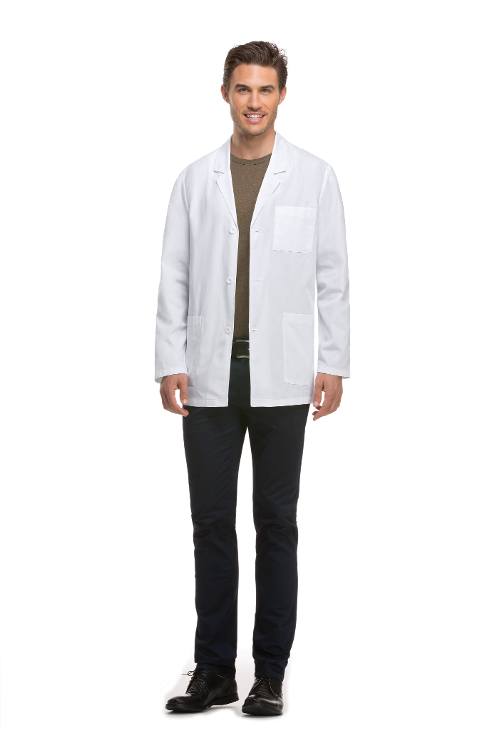 "MGH Institute of Health Professions Dickies 31"" Mens Lab Coat #81404"