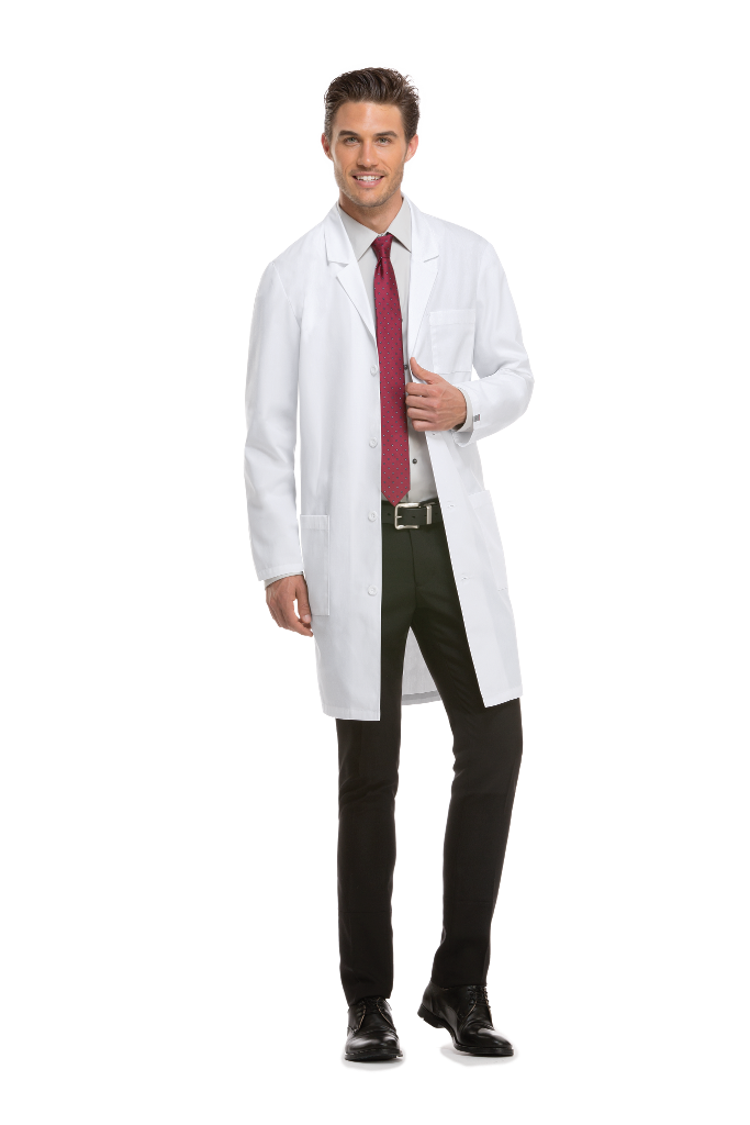 "MGH 1811 Dickies 40"" Unisex Lab Coat #83403"