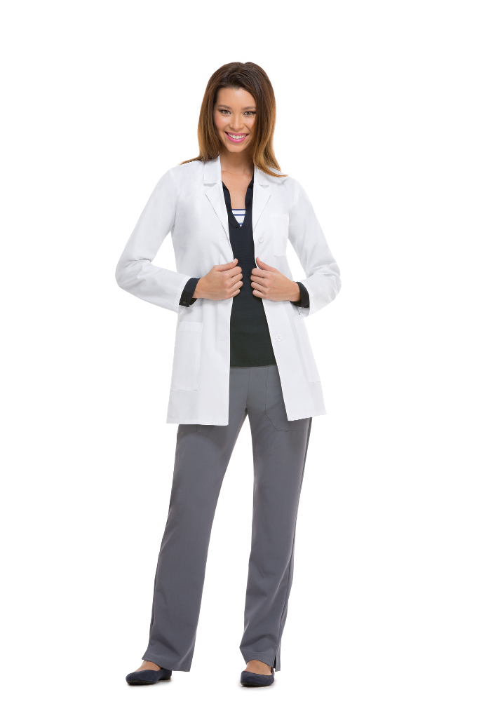 "MGH Institute of Health Professions Dickies 32"" Lab Coat #84400"