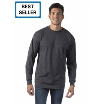 Spectra Unisex Ring Spun Combed Cotton Long Sleeve Tee