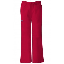 Cherokee Women's Low Rise Drawstring Cargo Pant #4020-RC