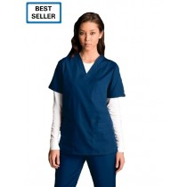 Cherokee Unisex 3 Pocket V-Neck Scrub Top # 4876