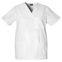 Cherokee Unisex 3 Pocket V-Neck Scrub Top # 4876-RC