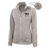 Lawrence Memorial-Regis College Charles River Women's Heathered Fleece Jacket