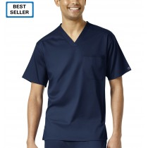 WonderWink PRO Men's V-Neck Scrub Top #6619