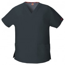 Dickies Women's V-Neck Scrub Top #86706