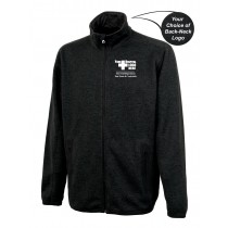 Lawrence Memorial-Regis College Charles River Men's Heathered Fleece Jacket