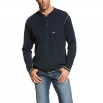 Ariat Men's Rebar Pocket Henley