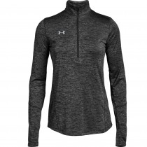 Under Armour Women's Novelty 1/2 Zip Long Sleeve Shirt #1305682
