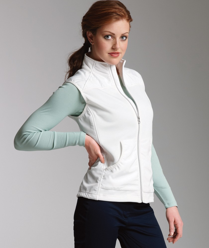 Women's Breeze Vest w/Woodland Academy Logo