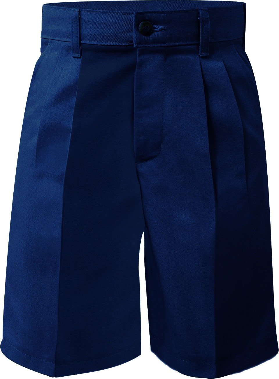 Allen's School Uniforms SMS Prep & Mens Pleated Shorts - Non Elastic Back  #7030