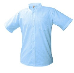 HFA Boys Short Sleeve Oxford