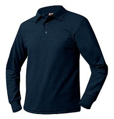 PCA A+ Long Sleeve Polo #8766
