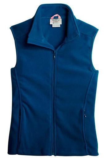 Women's Micro Fleece Vest w/Woodland Academy  logo