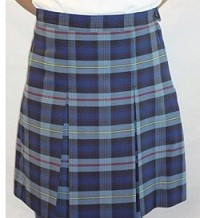 PCA Girls Box Pleat Skirt