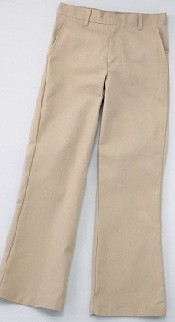 WA K-12 Girls Flat Front Pants