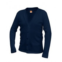 HFA V-Neck Cardigan - 2 pockets