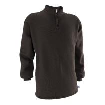 Black Russell 1/4 Zip Fleece