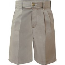 WA Boys Pleated Shorts #7047