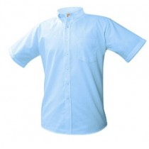 ASM Boys Short Sleeve Oxford-Optional