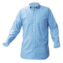 HFA Boys Long Sleeve Oxford #8066