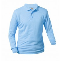 A+ Brand Long Sleeve Polo-Required