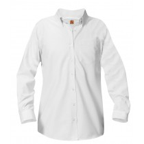 PCA Girls Long Sleeve Oxford Blouse