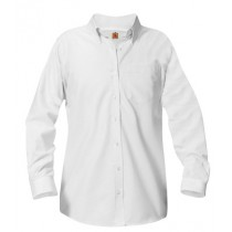 ASM Girls Long Sleeve Oxford Blouse