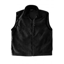 Men's MicroFleece Vest with Woodland Academy Logo