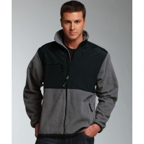 Men's Charles River Evolux Fleece Jacket with Woodland Academy l