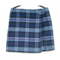 PCA Girls Plaid Double Flap Skort