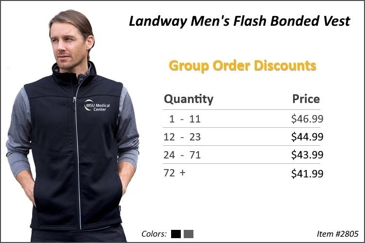 Landway Men's Flash Bonded Vest 2805