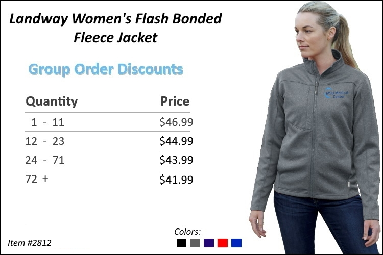 Landway Women's Flash Bonded Fleece Jacket 2812