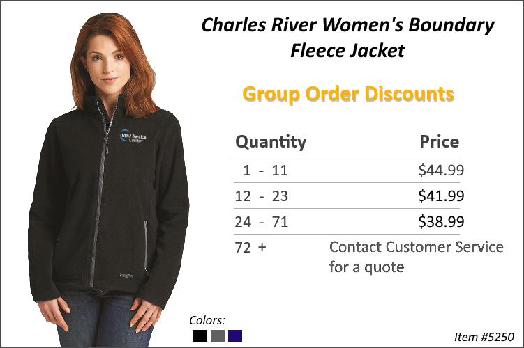 Charles River Women's Boundary Jacket 5250