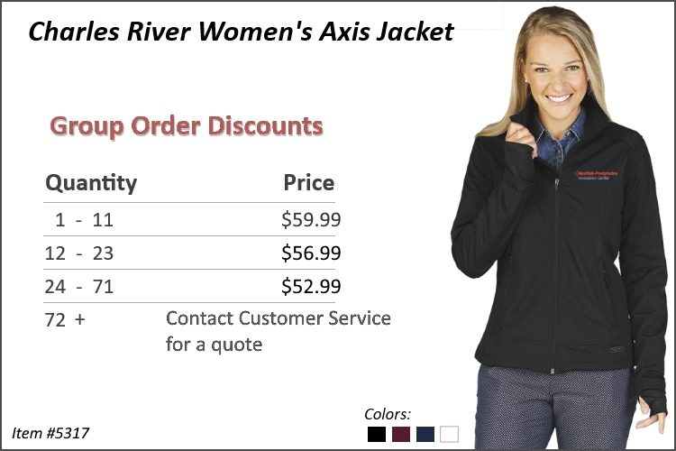 Charles River Women's Axis Jacket 5317