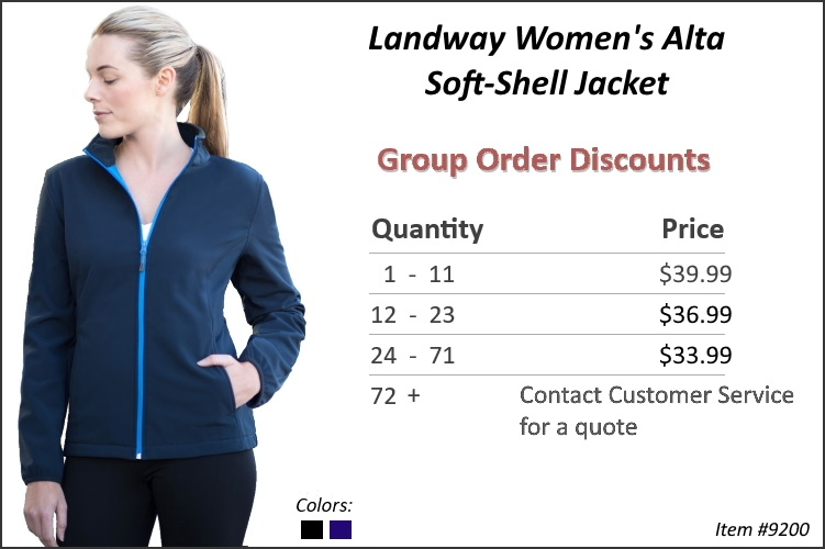 Landway Women's Alta Softshell Jacket 9200