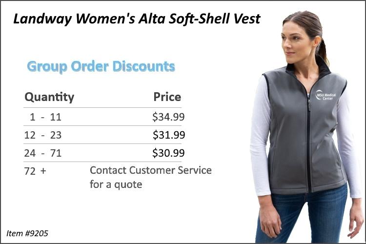Landway Women's Alta Soft-Shell Vest 9205
